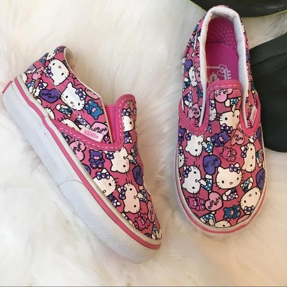 4980a11ff Hello Kitty Vans Toddler Size 7. M_5ada57d384b5cece211377a8